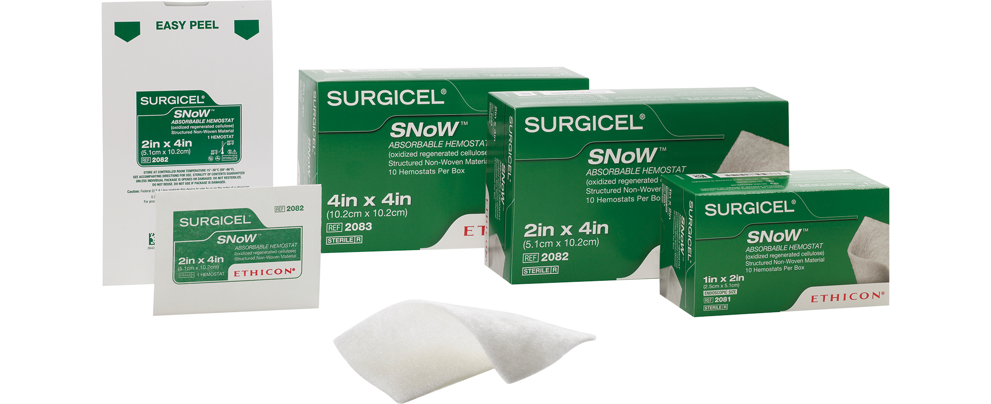 SURGICEL SNoW™ Absorbable Haemostat
