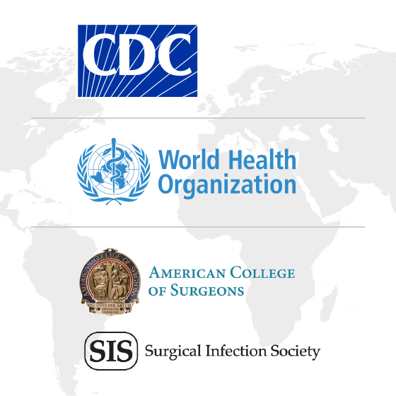 CDC and WHO logo